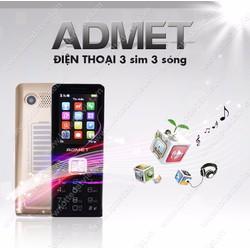 Điện thoại 3 sim pin khủng Admet K3000