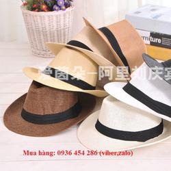 nón cói, nón phớt rộng vành, mũ phớt  thích hợp cho cả nam và nữ