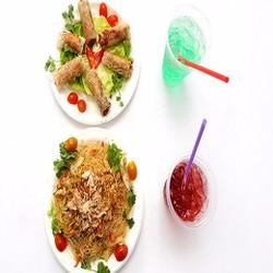 02 món ăn tự chọn chế biến từ thịt cua tươi  02 nước uống  Giao hàng tận nơi  Cua Út Kiệt