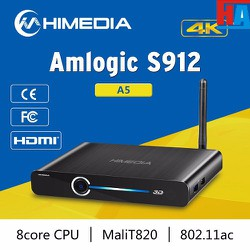 Himedia A5 Amlogic S912 full HD Octa Core Android TV Box