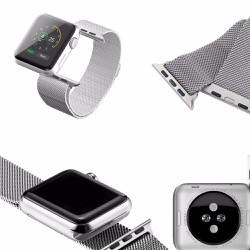 Thay Dây Đồng Hồ Kim Loại Cho Apple Watch