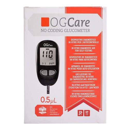 Máy đo đường huyết Ogcare Kèm 10 que - 4252773 , 5533338 , 15_5533338 , 450000 , May-do-duong-huyet-Ogcare-Kem-10-que-15_5533338 , sendo.vn , Máy đo đường huyết Ogcare Kèm 10 que