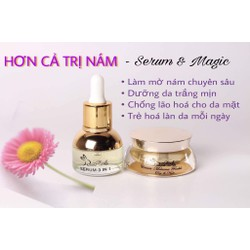 Magic Trị nám tàn nhang Rabbit White