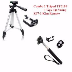 Combo Gậy Remote Và Tripod TF3110