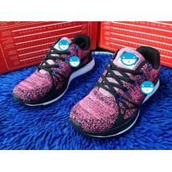 giày thể thao nữ hoa văn nhẹ