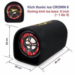 Loa Crown cỡ số 6 - Âm thanh ống siêu chất