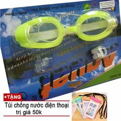 Kính bơi cao cấp Tặng túi chống nước điện thoại