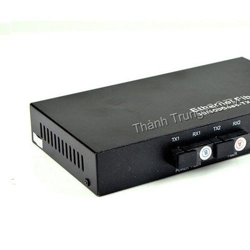 Switch 2 port quang + 2 portLan 100mbps