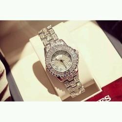 Đồng hồ nữ Bee Sister MS01 32mm dây kim loại đính đá cực đẹp