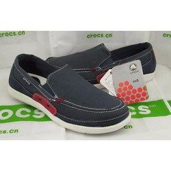 Giày Crocs walu accent cho nam màu xanh navy