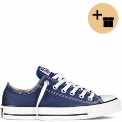 Giày Sneaker Xanh Đậm Cổ Thấp - Nam