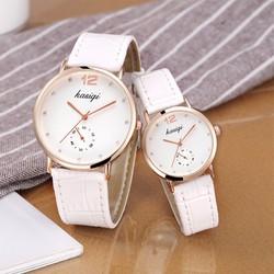 Đồng hồ đôi dây da thời trang kasiqi SP961