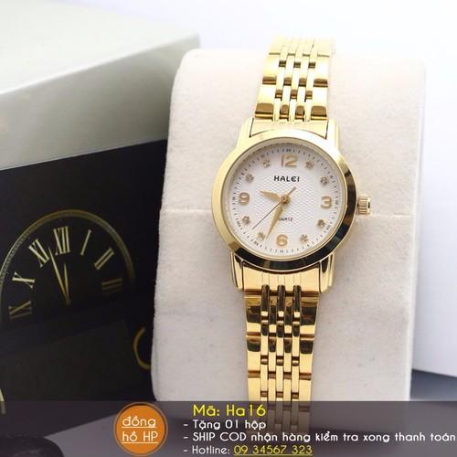 Đồng hồ nữ Halei chính hãng - 4253668 , 5537330 , 15_5537330 , 638000 , Dong-ho-nu-Halei-chinh-hang-15_5537330 , sendo.vn , Đồng hồ nữ Halei chính hãng