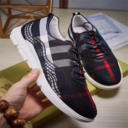 giày nam da mềm kết hợp vải chống nước NEW