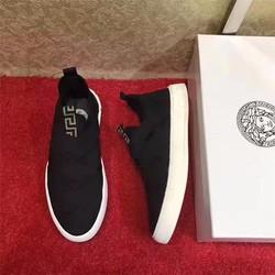 giày nam mặt chun lót da NEW 2017