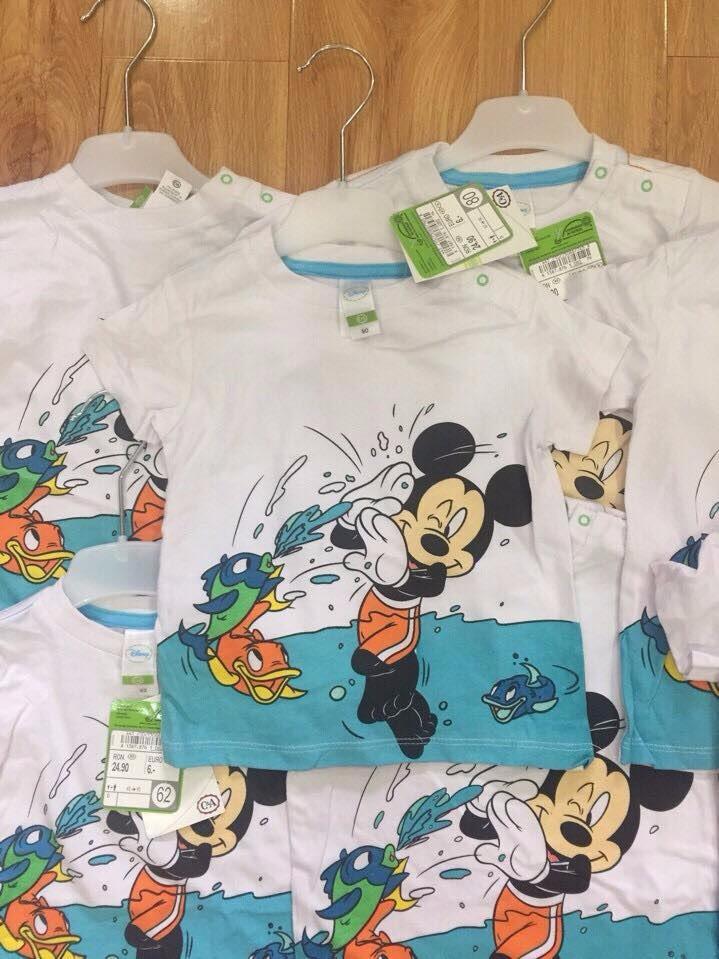 Áo thun Mickey cho bé trai 3M-24M AT236 2