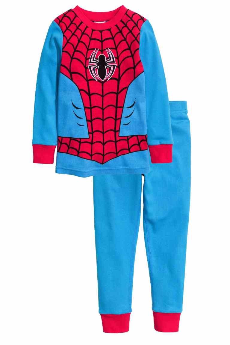 Bộ dài tay Spiderman H-M cho bé trai 1-6T BT150 1
