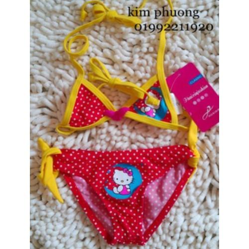 bộ bikini helokity 1 đến 5 tuoi