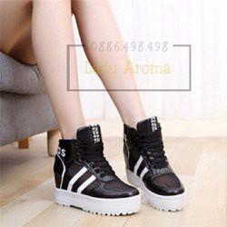 Giày thể thao tăng chiều cao cá tính hàn Lady-GN268