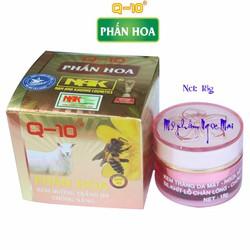 Kem dưỡng trắng da mặt - Ngừa nếp nhăn - Chống nắng Q10 Phấn Hoa 18g