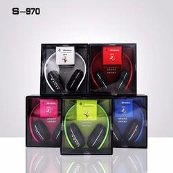 Tai Nghe Bluetooth S970 Ôm Tai Nghe Rất Hay