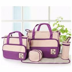 Bộ túi cao cấp 5in1 cho mẹ và bé