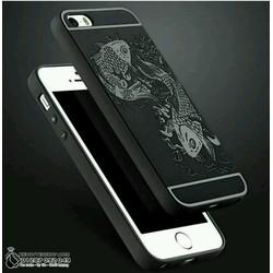 Ốp lưng Iphone 5,Iphone 5s,Iphone 5se chống sốc cá chép