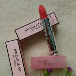 Son Secret Key Sweet Glam Tint Glow - màu Vanilla Peach