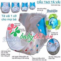 Tã vải Bambi mio - Quần bỉm cho bé  lớn