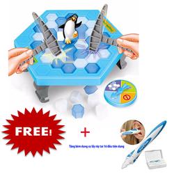 Bộ đồ chơi bẫy chim cánh cụt tặng kèm máy hút ráy tai Wac Vac