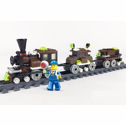 Lego tàu lửa 136 pcs
