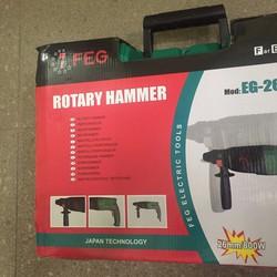 Máy khoan bê tông chuyên dụng FEG 800W kèm bộ phụ kiện
