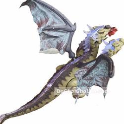 Hộp đồ chơi khủng long rồng có cánh 3 đầu Dinosaur