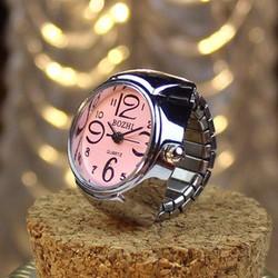 Đồng hồ nhẫn nữ cá tính giá rẻ