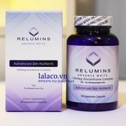 Viên Uống Trắng Da Relumins Advance White 15x  90 Viên