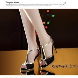 Giày cao gót hở mũi Trendy
