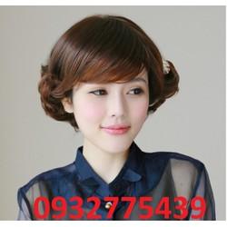 Bộ tóc giả hàn quốc quý bà S158