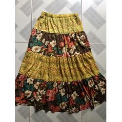 Si: Chân váy hoa