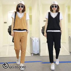 Set thể thao thời trang - hàng nhập Quảng Châu cao cấp