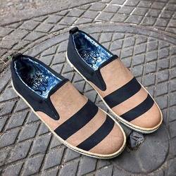 Giày lười nam đế cói xuất khẩu