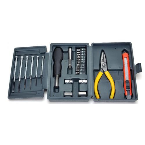 Hộp dụng cụ 24 chi tiết -AL - 4255701 , 5548545 , 15_5548545 , 85000 , Hop-dung-cu-24-chi-tiet-AL-15_5548545 , sendo.vn , Hộp dụng cụ 24 chi tiết -AL