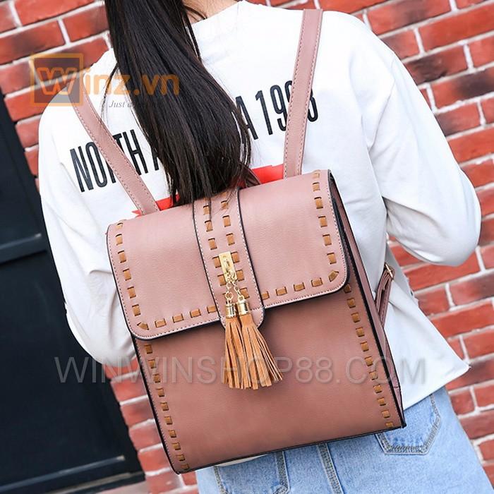Balo thời trang cao cấp BL233 Màu Hồng cung cấp bởi Winwinshop88 9