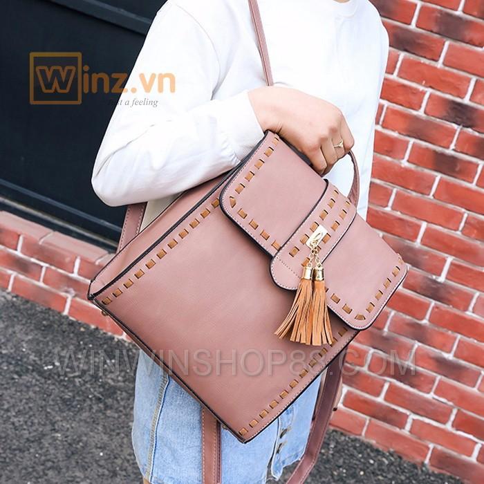 Balo thời trang cao cấp BL233 Màu Hồng cung cấp bởi Winwinshop88 5