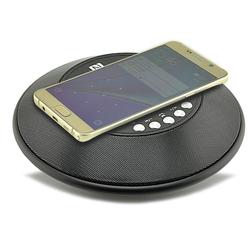 Loa Bluetooth Kiêm Sạc Không Dây Cho Điện Thoại Android