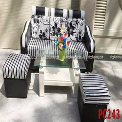 Bộ bàn ghế sofa mini giá rẻ chung cư nhỏ