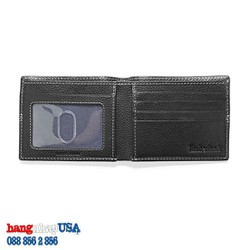 Ví da nam màu đen-Timberland Bifold Wallet