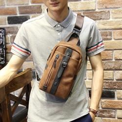 Túi đeo ngực nam da đẹp ZK324