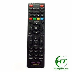 Điều khiển đầu thu DVB-T2 Hùng Việt Học lệnh điều khiển TV