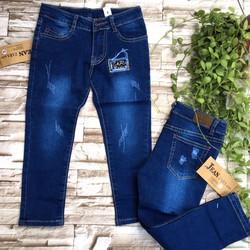 Quần dài jeans mềm - bé 16-30kg - qg117