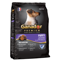 Thức ăn khô cho chó con Ganador Premium 500g